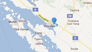 Kamp Miran Pirovac Google Maps