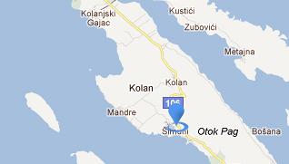 Kamp Šimuni Google Maps